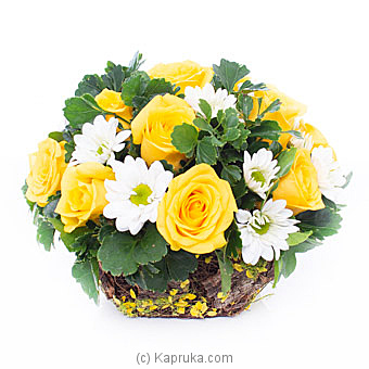 Basket Of Happiness By Flower Republic at Kapruka Online forflowers