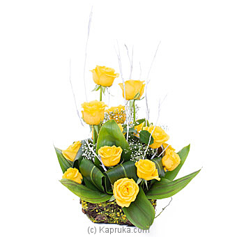 Golden Poesy By Flower Republic at Kapruka Online forflowers