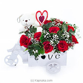 Love Cart Ride By Flower Republic at Kapruka Online forflowers