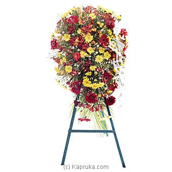 Funeral Wreath - E With Stand Online at Kapruka | Product# flowers00T208