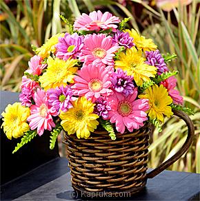 Kapruka Flower Farms, Sterling Flowers and Nirmana Flowers.