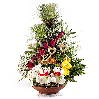 Together Forever Amongst The Flowers Of Love Online at Kapruka | Product# flowers00T587