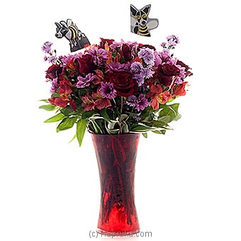 Embark Truly Spectacular Online at Kapruka | Product# flowers00T586
