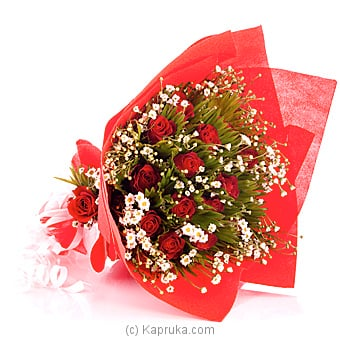14 Red Blooms Boquet Online at Kapruka | Product# flowers00T685