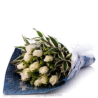 White Grace Boquet Online at Kapruka | Product# flowers00T687