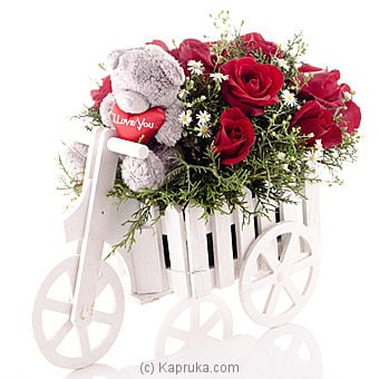 Wagon Of Scarlet Passion Online at Kapruka | Product# flowers00T728