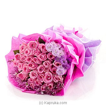 Pearl Blooms Flower Bouquet Online at Kapruka | Product# flowers00T740