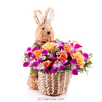 Easter Bunny Centerpiece Online at Kapruka | Product# flowers00T748