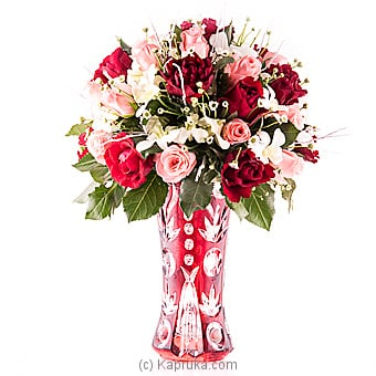 Pink And Red Sapphire Online at Kapruka | Product# flowers00T815