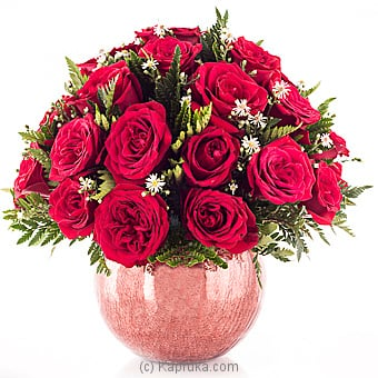 Rich And Red Blooms Of Love Online at Kapruka | Product# flowers00T823