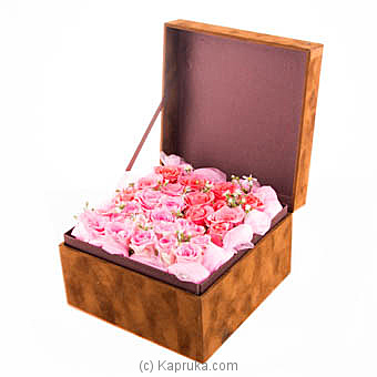 Box Of Pink Blooms For Her at Kapruka Online for flowers