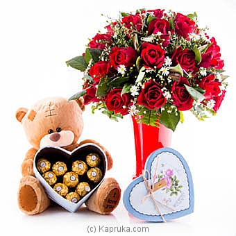 Gift Of Love Online at Kapruka | Product# flowers00T872