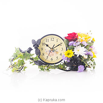 Elegant Clock Blossoms at Kapruka Online for flowers