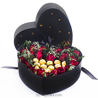 My Heart Is Yours Online at Kapruka | Product# flowers00T992