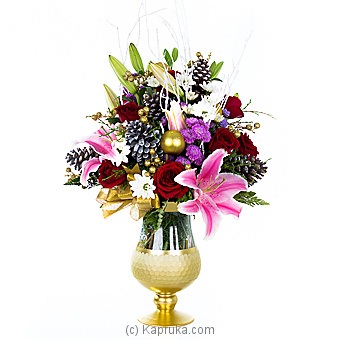 Christmas Blooms Online at Kapruka   Product# flowers00T1041