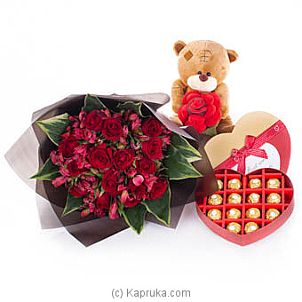Best Love Story Online at Kapruka | Product# flowers00T1042