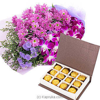 Shine With Purple Online at Kapruka | Product# flowers00T1048