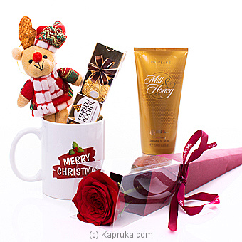 Love For Her On Christmas Online at Kapruka | Product# flowers00T1054