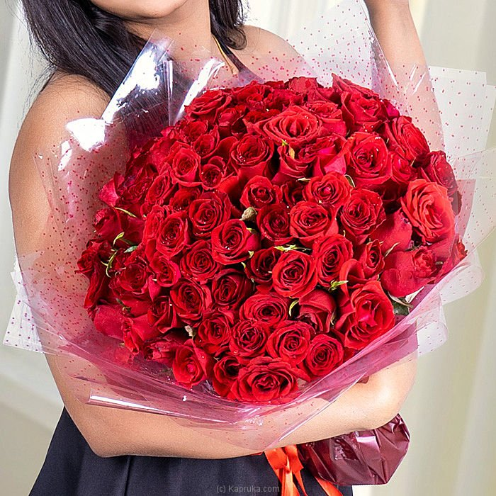 100 Red Rose Bouquet at Kapruka Online for flowers