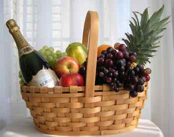 Fruit and Wine Basket at Kapruka Online