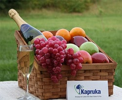 Celebration Basket Online at Kapruka | Product# fruitbsk0015