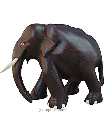 5` Tall Wooden Tusker at Kapruka Online for merchandise_general