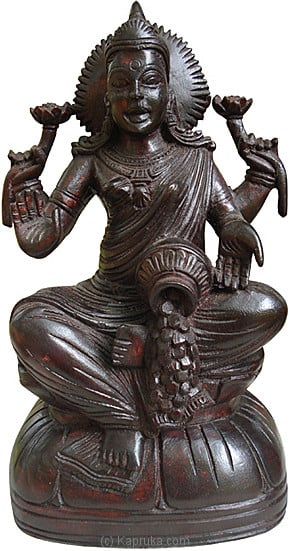 Saraswathi Statue -  Mahogani Wood at Kapruka Online for merchandise_general
