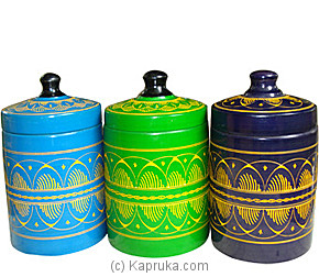 Set Of Multicoloured Jewelry Box at Kapruka Online for merchandise_general