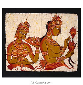 Get Sri Lankan Merchandise Batik Wall Hangings