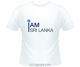 Sri Lanka Cricket Fan T-Shirt at Kapruka Online for merchandise_general