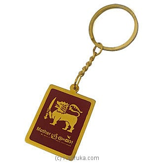 Mother Sri Lanka Brass Key Tag at Kapruka Online for merchandise_general