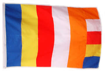 Buddhist Flag (38`` x 27``) at Kapruka Online for merchandise_general