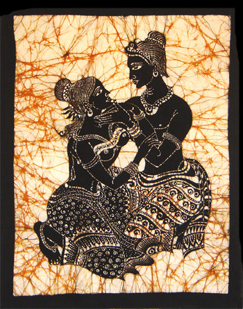 purchase cheap 2800b d1d36 Batik Wall Hanging batik00095 from Sri Lanka at Kapruka