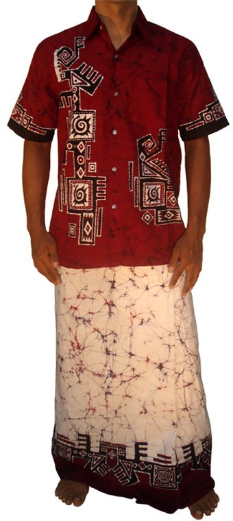 Batik Shirt / Sarong Kit at Kapruka Online for merchandise_general