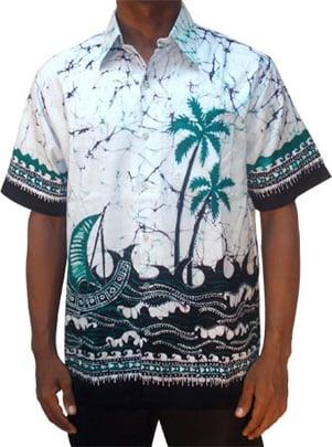 Batik Shirt Batik00004 From Sri Lanka At Kapruka
