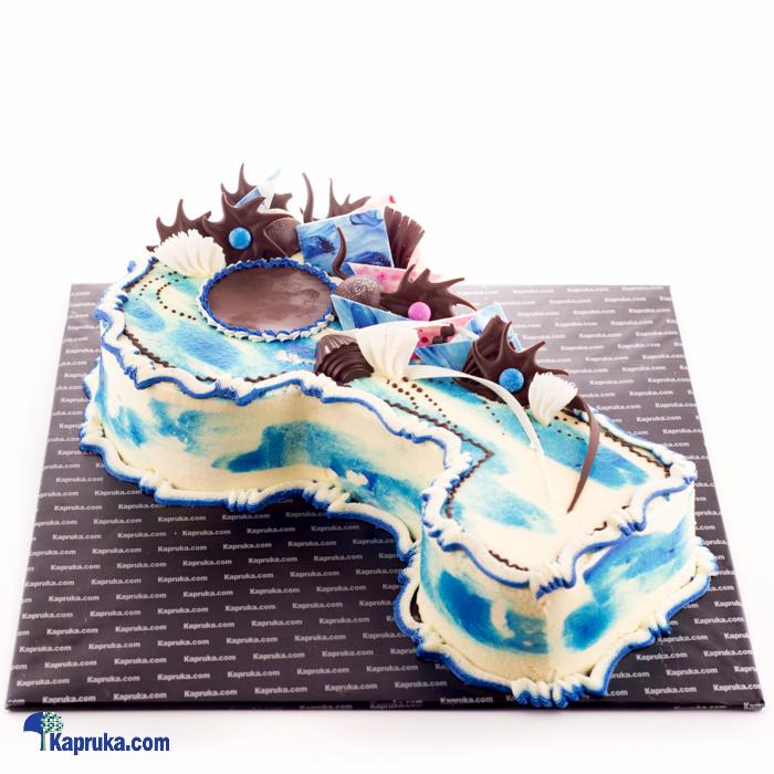 Deals For Key Birthday Cake Blue Cake Kapruka