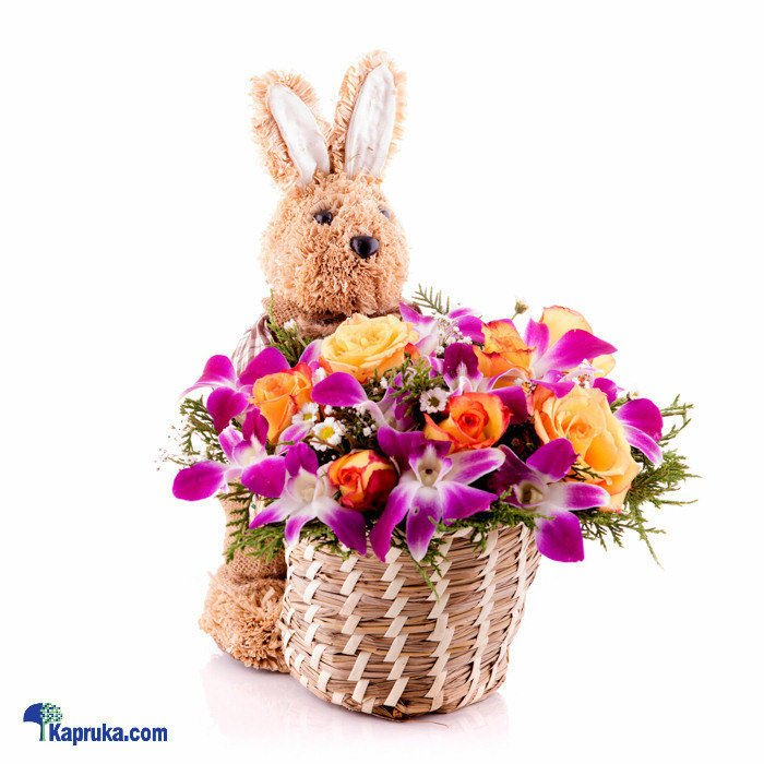 Send easter gifts online to sri lanka from kapruka 2 easter bunny centerpiece at kapruka online for flowers negle Gallery