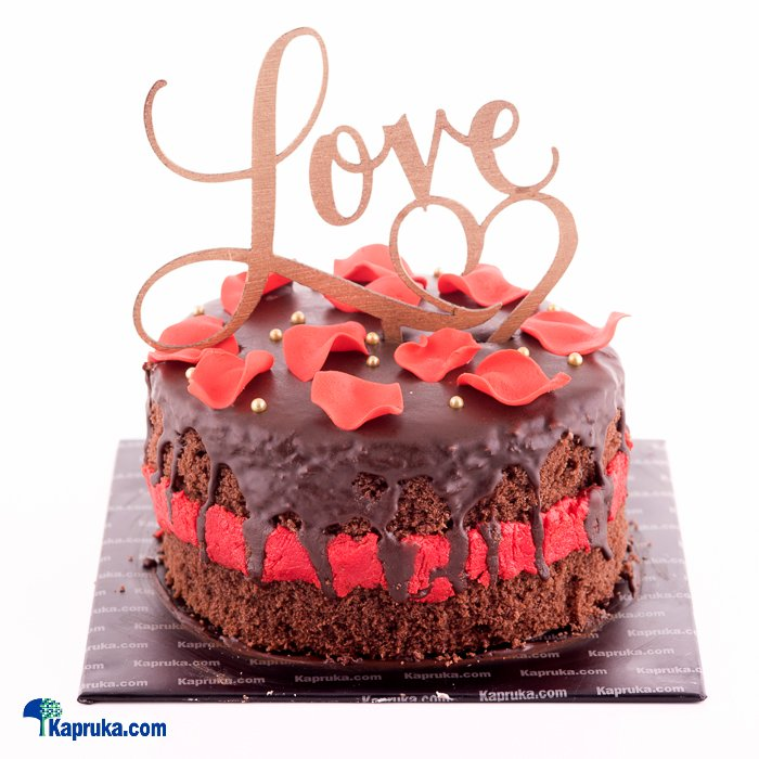 Online Price The Promise In A Kiss Chocolate Cake Cake Kapruka