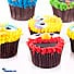 Kapruka Online Shopping Product Cookie Monster Cupcakes- 12 Piece Pack