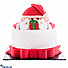 Kapruka Online Shopping Product Gift From Santa Ribbon Cake