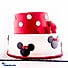 Kapruka Online Shopping Product Fabulous Minnie Mouse Cake