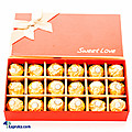 Kapruka Online Shopping Product Sweet Love Chocolate Gift Box