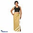 Kapruka Online Shopping Product Linen Lungi In Beige Color With Lace Small