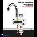 Kapruka Online Shopping Product Instant Tankless Electric Hot Water Heater Faucet