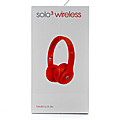 Kapruka Online Shopping Product Beats Solo3 Wireless On-ear Headphones - (PRODUCT) RED