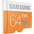 Kapruka Online Shopping Product Samsung EVO 64GB Micro SDXC Memory Card With Adapter