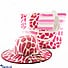 Kapruka Online Shopping Product Summer Time Pink Bag With Hat