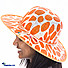 Kapruka Online Shopping Product Summer Time Orange Bag With Hat