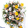 Kapruka Online Shopping Product Funeral Wreath - G With Stand