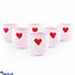 Kapruka Online Shopping Product Candy Love Ceramic Dessert Cup Set